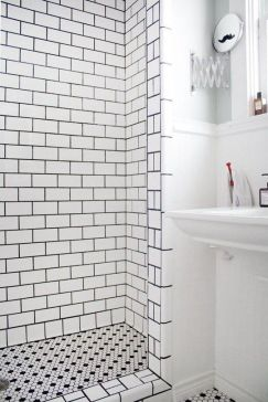 Full Subway Tile in Shower